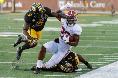 Editorial photo of Alabama Missouri Football, Columbia, United States - 26 Sep 2020