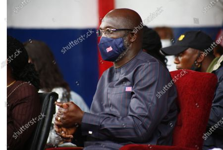 Liberian president George Weah attends an event to mark World Tourism Day on Providence Island in Monrovia, Liberia, 26 September 2020. World Tourism Day is celebrated annually on 26 September. The and Liberia Ministry of Information Cultural Affairs & Tourism held an event to showcase the country's cultural heritage.