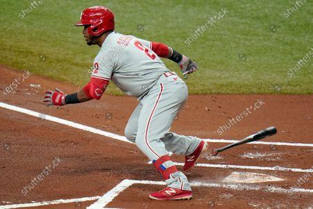 Editorial image of Phillies Rays Baseball, St. Petersburg, United States - 26 Sep 2020