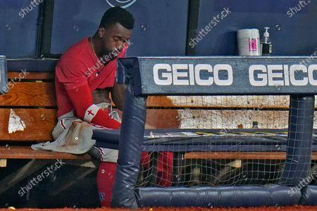 Editorial photo of Phillies Rays Baseball, St. Petersburg, United States - 26 Sep 2020
