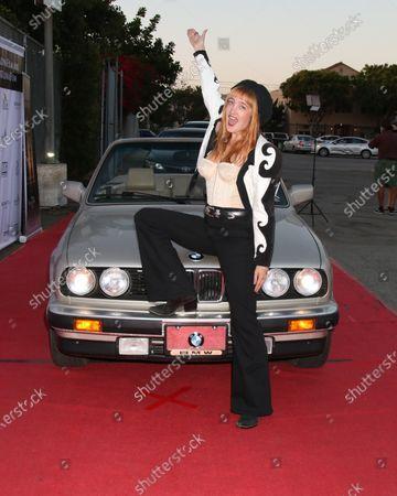 Editorial image of Catalina Film Festival Drive Thru Red Carpet and Car Pool Cinema, Long Beach, USA - 25 Sep 2020