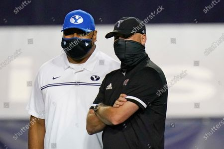 Editorial picture of Troy BYU Football, Provo, United States - 26 Sep 2020