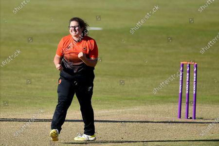 Editorial image of Southern Vipers v Northern Diamonds, Rachael Heyhoe Flint Trophy Final, Cricket, Edgbaston, Birmingham, UK - 27 Sep 2020