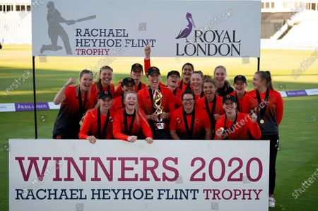 Southern Vipers the winners of the Rachael Heyhoe Flint Trophy