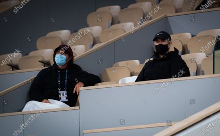 Editorial picture of French Open Tennis, Day One, Roland Garros, Paris, France - 27 Sep 2020