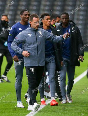 Aston Villa's assistant head coach John Terry