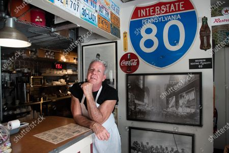 Richard Kline - Part owner and Chef. His partner in the restaurant is Joann Larkie-not pictured. A staple restaurant in West Palm Beach, is 'City Diner'. A 50's style diner with memorabilia dating back to a 50's juke box that plays 50's music, a telephone booth, with Superman inside, and an old Pepsi soda machine and much more memorabilia. The diner has been open straight through the pandemic. A place where the locals were able to get takeout and now in Phase 3, customers can eat inside or out on the patio. The restaurant is open for breakfast, lunch and dinner. Family owned and operated. Owner Joanne Jo and her Chef-son Richard Klein have been operating the business for 13 years. The service staff know the locals by name and have a good idea what they will order on the menu.