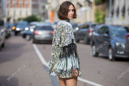 Editorial picture of Street Style, Spring Summer 2021, Milan Fashion Week, Italy - 26 Sep 2020