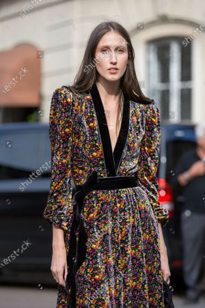 Editorial photo of Street Style, Spring Summer 2021, Milan Fashion Week, Italy - 26 Sep 2020