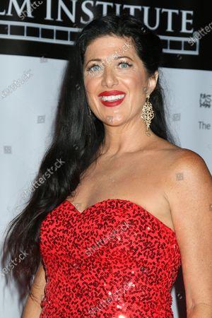Steffanie Siebrand wearing Azazie dress