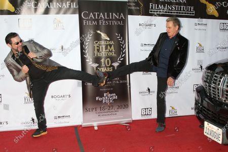 Catalina Film Festival Director Ron Truppa and Martin Kove