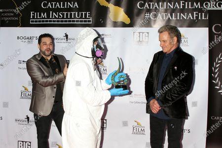Catalina Film Festival Director Ron Truppa, Hazmat Presenter, and Martin Kove