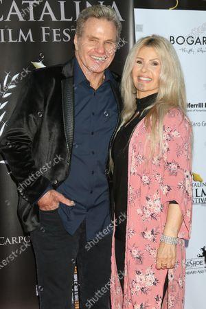 Martin Kove and Mary Scavo Squire
