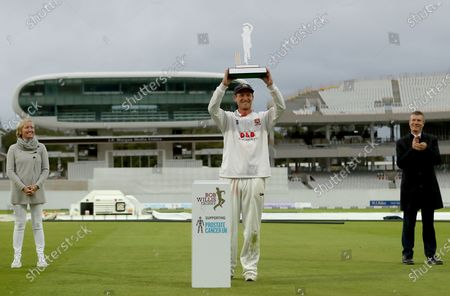 Editorial photo of Somerset CCC vs Essex CCC, Bob Willis Trophy Final, Cricket, Lord's Cricket Ground, St John's Wood, London, United Kingdom - 27 Sep 2020