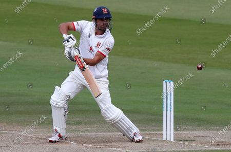 Sir Alastair Cook of Essex in batting action during Somerset CCC vs Essex CCC, Bob Willis Trophy Final Cricket at Lord's Cricket Ground on 27th September 2020