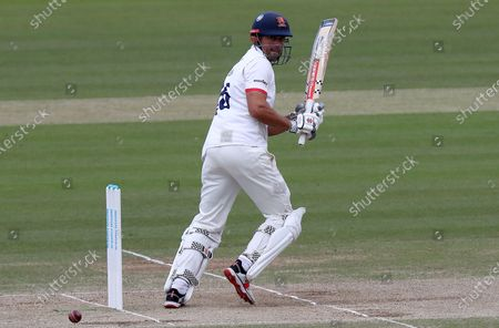 Stock Photo of Sir Alastair Cook of Essex in batting action during Somerset CCC vs Essex CCC, Bob Willis Trophy Final Cricket at Lord's Cricket Ground on 27th September 2020
