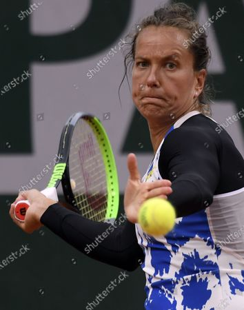Editorial image of French Open tennis tournament at Roland Garros, Paris, France - 27 Sep 2020