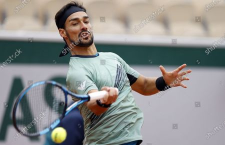Editorial photo of French Open tennis tournament at Roland Garros, Paris, France - 27 Sep 2020