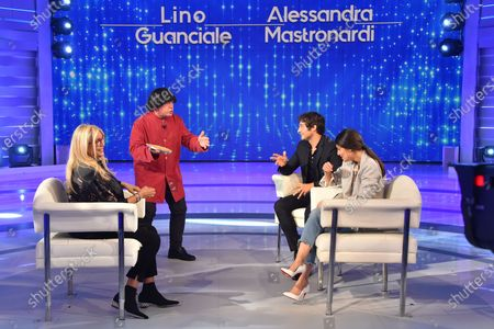 Editorial image of 'Domenica in' TV show, Rome, Italy - 27 Sep 2020