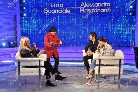 Mara Venier, Marco Marzocca, Lino Guanciale, Alessandra Mastronardi