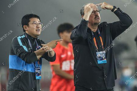 Editorial image of China Dalian Football Csl Guangzhou Evergrande Taobao vs Dalian Pro - 27 Sep 2020