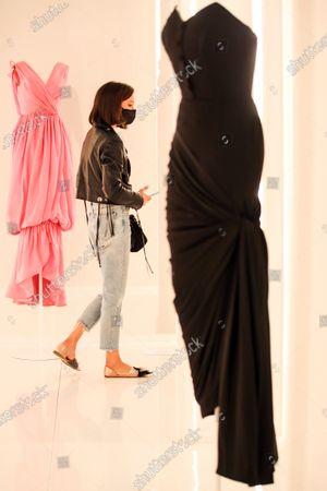 Editorial photo of 'Alaïa et Balenciaga - Sculpteurs de la forme' exhibition runs in Paris, France - 27 Sep 2020