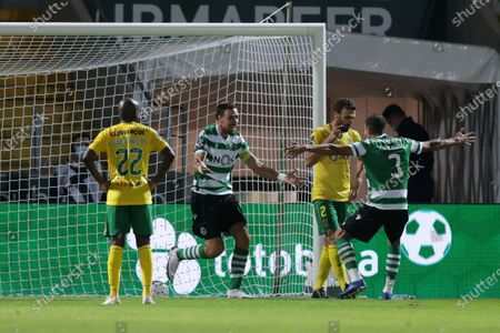Editorial picture of Pacos de Ferreira vs Sporting, Portugal - 27 Sep 2020