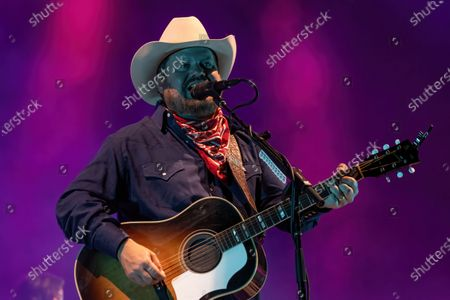 Stock Picture of Randy Rogers of Randy Rogers Band