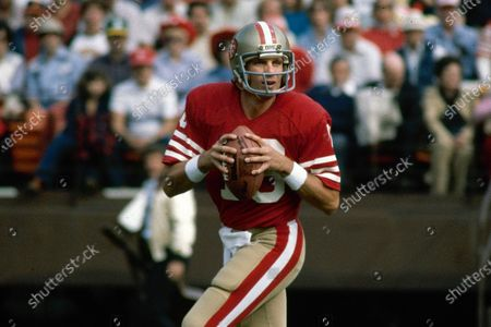 San Francisco 49ers NFL football quarterback Joe Montana in San Francisco. Hall of Fame quarterback Joe Montana and his wife confronted a home intruder who attempted to kidnap their grandchild over the weekend, law enforcement confirmed on