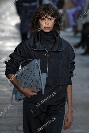 Editorial photo of Womenswear, summer 2021, Milano, Boss, Italy - 25 Sep 2020