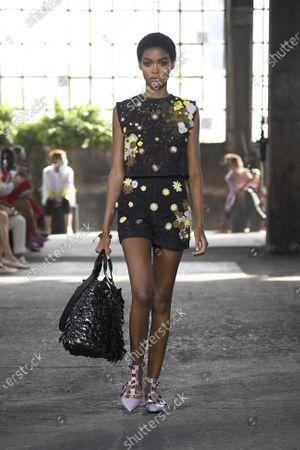 Editorial photo of Womenswear, summer 2021, Milano, Valentino, Italy - 27 Sep 2020