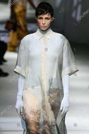 Editorial picture of Womenswear, summer 2021, Milano, Fendi - 23 Sep 2020