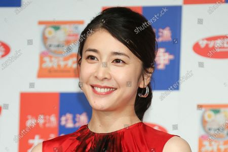 Stock Image of FILE: Japanese actor Yuko Takeuchi was found dead at her home in an aparent suicide. Photo taken August 26, 2019 in Tokyo, Japan for commercial.