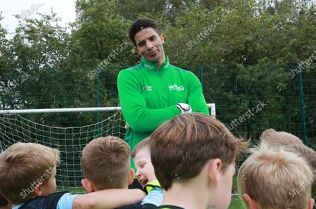 Editorial image of David James photocall at Welwyn Garden City FC to help grassroots football, Welwyn Garden City, UK - 26 Sep 2020