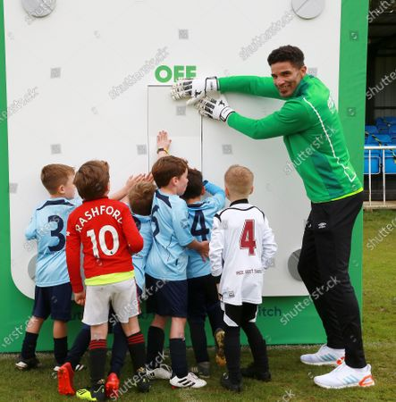 Editorial picture of David James photocall at Welwyn Garden City FC to help grassroots football, Welwyn Garden City, UK - 26 Sep 2020