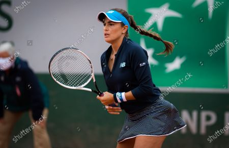 Editorial picture of French Open Tennis, Day Two, Roland Garros, Paris, France - 28 Sep 2020