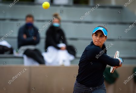 Editorial photo of French Open Tennis, Day Two, Roland Garros, Paris, France - 28 Sep 2020