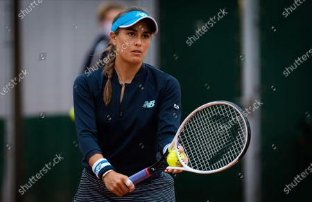 Editorial image of French Open Tennis, Day Two, Roland Garros, Paris, France - 28 Sep 2020