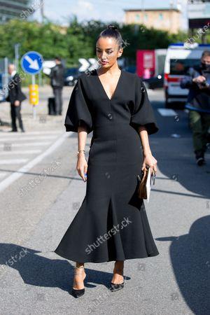 Stock Photo of Amina Muaddi