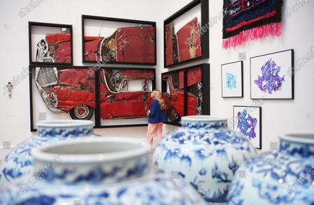 Editorial photo of Summer Exhibition at the Royal Academy of Arts, London, United Kingdom - 28 Sep 2020