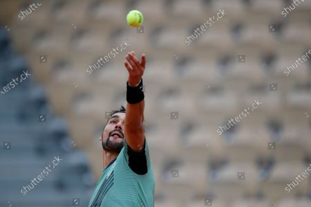 Editorial picture of Tennis French Open, Paris, France - 28 Sep 2020