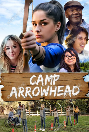 Camp Arrowhead/The Message (2020) Poster Art. Chloe Lukasiak as Devin Dupree, Tori Keeth as Sophie Walker, Donnie Williams as Percy Bishop, Carter Southern as Tyler Barnes and Joy Regullano as April