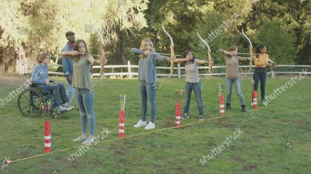 Carter Southern as Tyler Barnes, Donnie Williams as Percy Bishop, Tori Keeth as Sophie Walker, Chloe Lukasiak as Devin Dupree, Joy Regullano as April, Anna Maria Perez de Tagle as Georgia Morales and Angelique Sabrina White as Samantha Simon