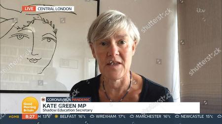 Editorial image of 'Good Morning Britain' TV Show, London, UK - 28 Sep 2020