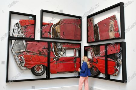 Ron Arad, Oh Lord, won't you buy me?, at Royal Academy of Arts Summer Exhibition