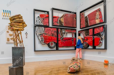 Editorial image of The delayed RA Summer (Winter) Exhibition 2020, Royal Academy, Piccadilly, London, UK - 28 Sep 2020