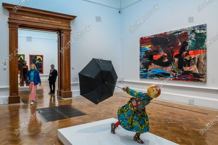 Air Kid (Girl) by Yinka Shonibare, £150,000 - The Royal Academy (RA) Summer (Winter) Exhibition 2020, which was delayed due to the impact of the Coronavirus lockdown.