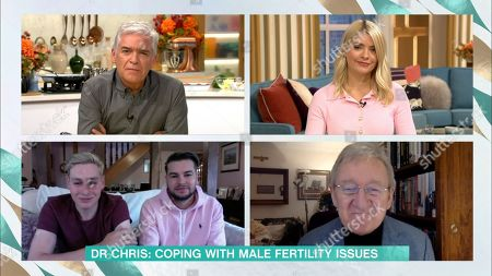 Holly Willoughby, Phillip Schofield, Ben Hughes, Chris Hughes, Dr Chris Steele