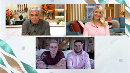 Holly Willoughby, Phillip Schofield, Ben Hughes, Chris Hughes