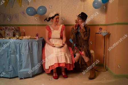 Alice Lowe as Alice and Sally Hawkins as Jane
